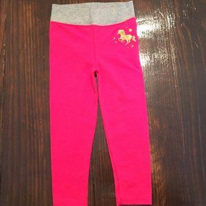 Garanimals Pink Pants Gold Unicorn 3T